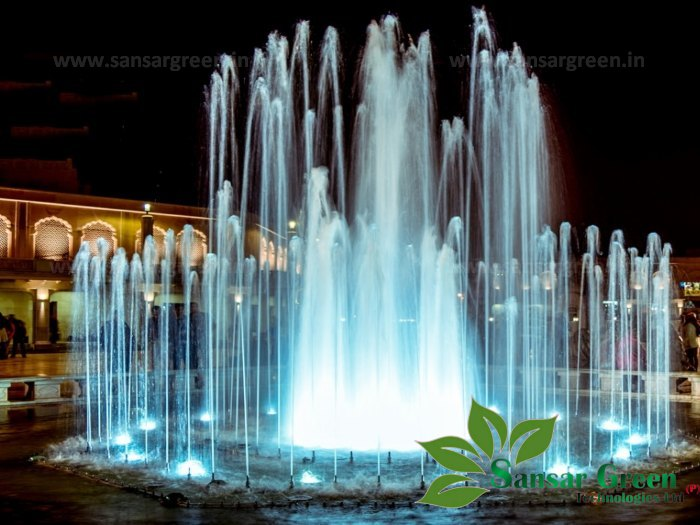 Musical Fountain manufacturer in India, Sansar Green Technologies